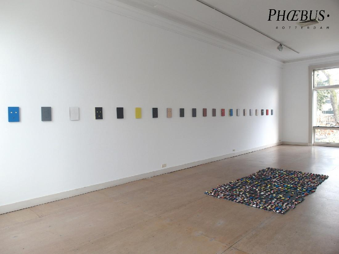Stefan Gritsch, 2020, 21 Self Portraits; VERSO/VERSO and pretty things on a dark carpet PHŒBUS•Rotterdam
